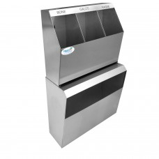 Okinox 304 Stainless Steel, Bonnet, Shoe Cover, Disposable Apron Cabinet.