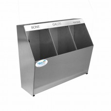Okinox Stainless Steel Bonnet Shoe Cover Apron Cabinet Without Bucket, Wall Mounted