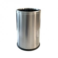 Okinox Stainless Steel Trash Can With Circle Cover. 9 Liter