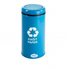 Okinox Recycling Dustbin. Rotating Cover, Painted. 901653