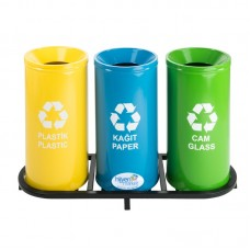 Okinox Recycling Dustbin Top Painted With Holes. 901667