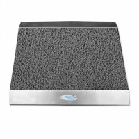 Hygienic Mat, 304 Stainless Metal Steel, With Ramp 60x90 cm
